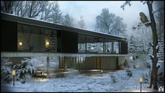 CGarchitect | The White Tree House_No Flare Version
