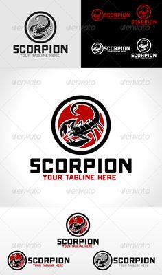 Buy Scorpion Logo Template by VectorCrow on GraphicRiver. Great scorpion Logo Template for your company File included : . Logo Design Template, Logo Templates, Design Logos, Vector Format, Eps Vector, Scorpio Art, Portfolio Logo, Geometric Logo, Game Logo