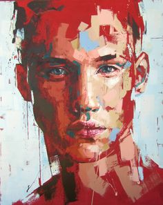 jimmy law south african b 1970 acrylic on canvas 2014 figurative expressionist art male head grunge man face portrait painting drips loveart ? Painting People, Figure Painting, Jimmy Law, Figurative Kunst, Art Moderne, Cool Paintings, Paintings On Canvas, Paintings Famous, Portrait Art