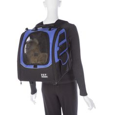The five-in-one I-GO2 Traveler Pet Carrier in Lavender from RadioFence.com can be used as a backpack, tote, carrier, or car seat for your cat or dog! Comes with a removable pad for easy washing, two tethers to secure animal, and wheel cover. Only $69.95 plus FREE SHIPPING! (http://www.radiofence.com/pet-gear-i-go2-traveler-pet-carrier-in-lavender-PG1240LV/)