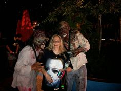 I made some new friends they told me to look scared