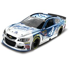 Kevin Harvick Action Racing 2016 #4 Busch Light 1:24 NASCAR Sprint Cup Series Autographed Color Chrome Die-Cast Chevrolet SS