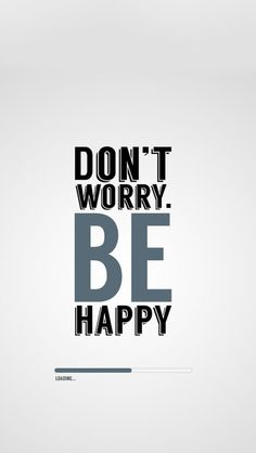 Tap on image for more Quote Wallpapers! Be Happy - @mobile9 #typography