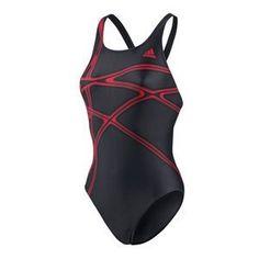 Schwimmer mit grafischem Streifenprint