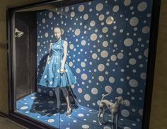 Pop Art In Fashion Inspired Window Display by FIDM Students
