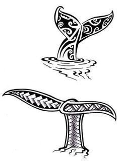 Croquis Dessin Tatouage Queue Baleine Maori Polynésien #maoritattoosturtle
