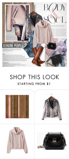 """""""Body and soul"""" by purpleagony on Polyvore featuring shearlingcoat, genuinepeople and Genuine_People"""