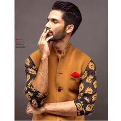 Thinking about whether you should spice up your look with a cool printed kurta? The answer is YES. | 11 Brilliant Outfits Every Man Needs To See Before Shaadi Season