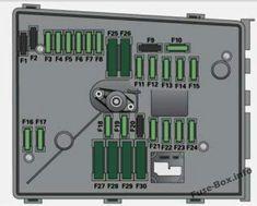 Audi A3 S3 8p 2008 2009 2010 2011 2012 Fuse Box Diagram Fuse Box Engine Control Unit Audi