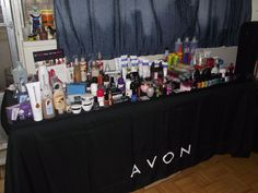 Avon Home Party Table