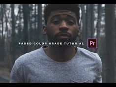 Vintage/Faded Color Grade Tutorial (Adobe Premiere Pro CC) - YouTube