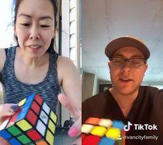 Amazing Life Hacks, Useful Life Hacks, Rubiks Cube Patterns, Solving A Rubix Cube, Rubik's Cube Solve, Rubiks Cube Algorithms, Easy Magic Tricks, Everyday Hacks, Diy Crafts Hacks