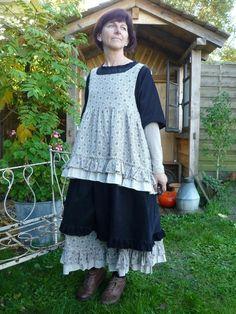 Blouse sans manches, blouse Méline est une création orginale de L-armoire-de-Blandine sur DaWanda