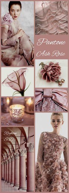'' Ash Rose - Pantone '' by Reyhan S.D.