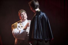 Samuel Whited as Roebuck Ramsden / Don Gonzalo in Blackbird's production of MAN AND SUPERMAN by George Bernard Shaw. Runs through Feb 2, 2014. Tix at BlackbirdNashville.com.