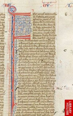 Puzzle initial 'F' with pen-flourishing, at the beginning of I Kings.   Origin:Italy or France, S.