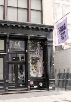 Anna Sui Soho Store - one of my favorite places to shop in the area  | The House of Beccaria
