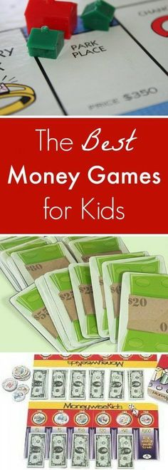 Kids will have fun learning about money with these five games! These are the best money games for kids our family has played.