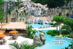 THE RIVER POOL in Puerto Rico! Mayaguez Resort Hotel