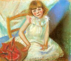 Stanisław Wyspiański - Girl With A Red Hat