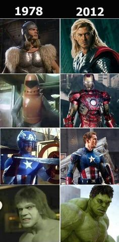 Super heros have gotten so much better looking #geekweek