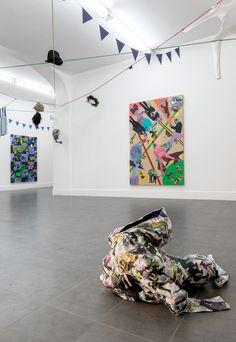 Ryan McNamara, Ryan McNamara's Candid Installation view at Brand New Gallery, Milan September-November 2013