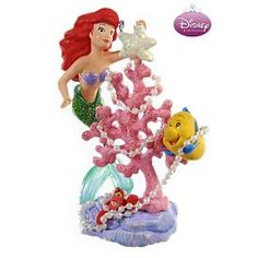 Merry Coral Christmas Tree Disney's The Little Mermaid Ariel 2009 Hallmark Keepsake ornament -- You can get additional details at the image link. (This is an affiliate link) Hallmark Christmas Ornaments, Hallmark Keepsake Ornaments, Christmas Decorations, Disney Little Mermaids, The Little Mermaid, Mermaid Disney, Mermaid Ornament, Illustrations, Christmas Time