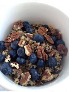 Breakfast: Quinoa Breakfast Cereal