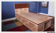 Vídeo como hacer una cama fácil de hacer | Web del Bricolaje Diy diseño y muebles