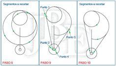 AutoCAD para todos - 100% Práctico: Ejercicio desarrollado 05 - AutoCAD Intermedio Technical Drawing, Haha, Drawings, Moldings, Stencils, Buildings, Exercises, Wood, Blue Prints