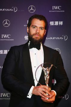Henry Cavill News: Tuxedo Love: Henry Cavill At The Laureus World Sports Awards