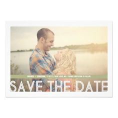 ShoppingGreen Strip Photo Save The Date InvitesThis site is will advise you where to buy