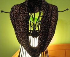 Now that winter is here--I want an infinity scarf!