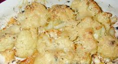 Parmesan garlic cauliflower