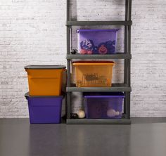 Protect your most ghostly possessions with Steriliteu0027s Halloween Storage containers & Halloween Storage | Halloween Storage u0026 Organization | Pinterest ...