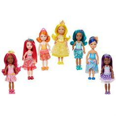 Original Barbie Doll Toy Barbie Dreamtopia Rainbow Cove 7 Doll Gift Set Barbie Collection Model Figure Toys Gift for Girls Bonec goamiroo store Mattel Barbie, Mattel Shop, Barbie Club, Barbie 2000, Pink Barbie, Long Pink Hair, Original Barbie Doll, Accessoires Barbie, Barbie Website