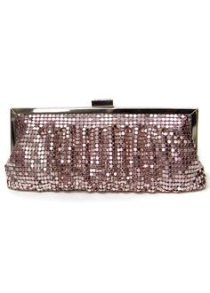 Oh no! You have no where to put your phone during the excitement at prom night! Thats not a problem with this La Regale clutch! super cute (: #RissyRoosProm
