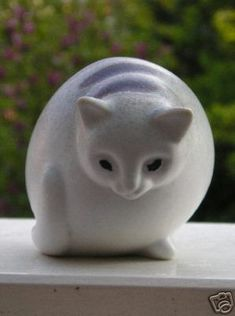 RORSTRAND SWEDEN cat figurine