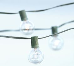 Globe String Lights #potterybarn