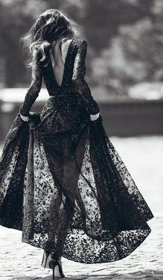Black lace ... so pretty♡