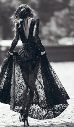 Lace affair.