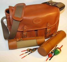 Leather Fishing Bags