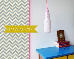 Hängelampe - lace lamp