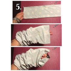 systersyr - Tutorial: Buff i trikå Easy Sewing Projects, Two Piece Skirt Set, Knitting, Simple, Skirts, How To Make, Crafts, Clothes, Tips