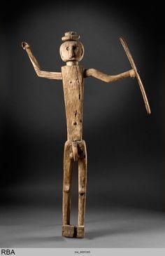 775×1200)Uhrahnenpaar Serili & Marsela & Barbar-Archipel & südliche Molukken & Indonesien & Südostasien 1801/1900 Gruppe (2-figurig)Skulptur Holz Köln, Rautenstrauch-Joest-Museum