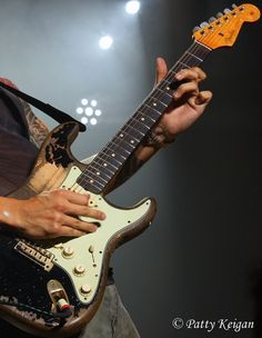John Mayer's beat up strat... Reminds me of blackie