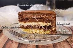 Chocolate Kalamansi Entremet