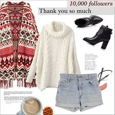 """""""You and me got a whole lot of history"""". #185 by raruna-diamond on Polyvore featuring H&M, NYX, Levi's and modern"""