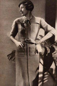 1934 1930s Fashion, Vintage Fashion, 1930s Dress, Vintage Style, Photographs, Glamour, Elegant, Womens Fashion, Pretty