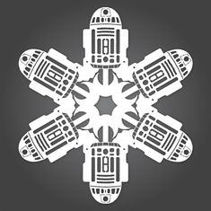 Thanks to Chaunce Dolan at Matters of Grey, we learned about these amazing Star Wars snowflakes. You can even download the templates and make your own. [MD]